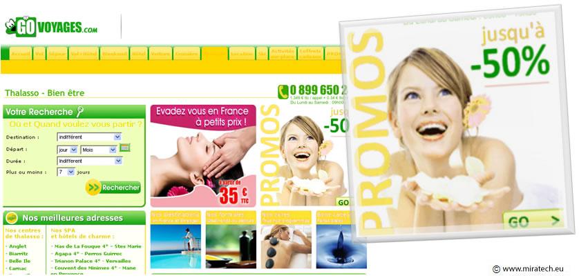 Exemple de publicité combinant les critères gagnants