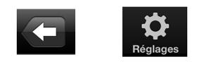 Exemple de deux icônes que tout le monde comprend