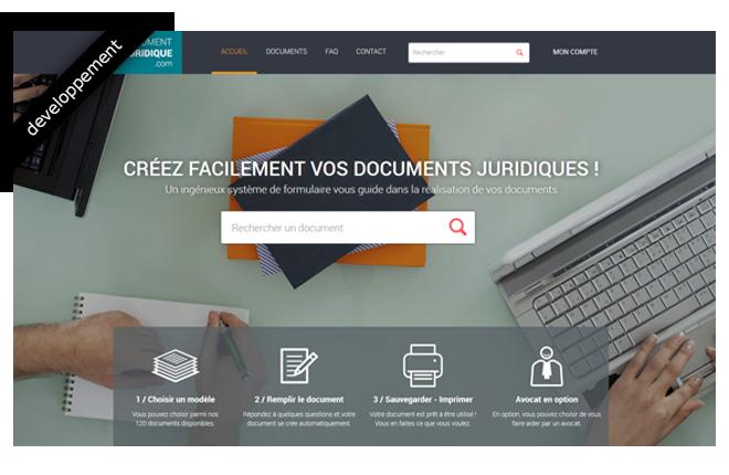 Page d'accueil document-juridique.com